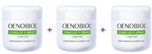 Oenobiol Fortifiant Cheveux & Ongles (pack de 3)