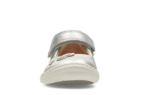 Clarks  Softly Wow Fst, Chaussures de ville à lacets pour fille gris gris