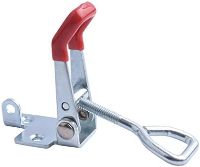 PETSOLA 炭素鋼ラッチトグルクランプ耐久性のあるホームドアラッチロック固定具 - スタイル4003