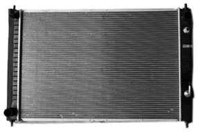 TYC 13039 Nissan Murano 1-Row Plastic Aluminum Replacement Radiator