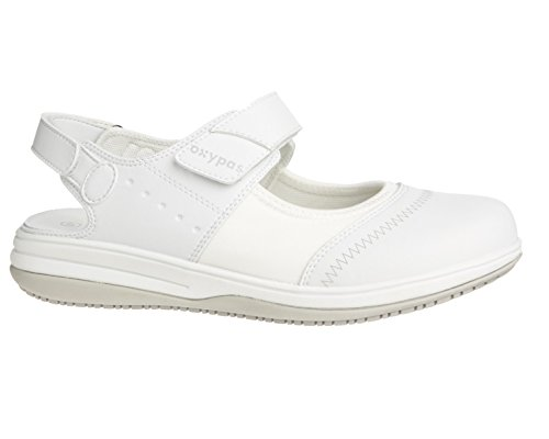 Oxypas Melissa, Women's Safety Shoes, White (Wht), 7 UK (41 EU)