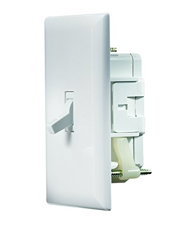 RV Designer S821, Self Contained Wall Switch with Cover Plate, White ()
