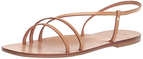 (Joie Women's Baja Flat Sandal, Natural, 38.5 Regular EU (8.5 US))