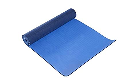 Amazon.com: thinksport de yoga y pilates mat, Azul: Sports ...