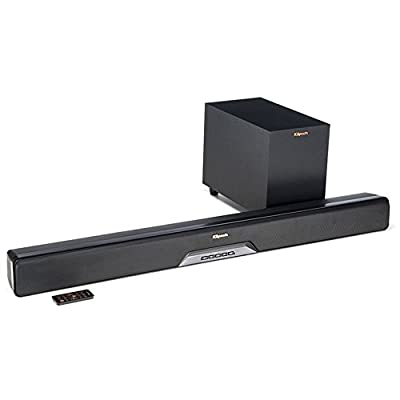 Klipsch Reference RSB-6 Bluetooth Soundbar Wireless Subwoofer And 3 Free Months Netflix