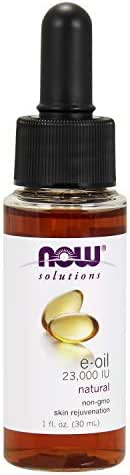 NOW Solutions, E-Oil 23,000 IU, Natural Skin Rejuvenation, 1-Ounce