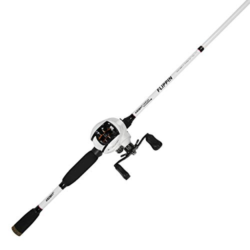 Ardent Arrow Flipping Combo with 1 Piece Graphite Rod and Flipping Reel, 7.0:1 Gear Ratio, Right Handed (Best Flipping And Pitching Rod)