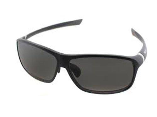 TAG Heuer 27 Sunglasses 27° 6024 103 Matte Blue Grey / Grey Polarized - Heuer Polarized Tag Sunglasses