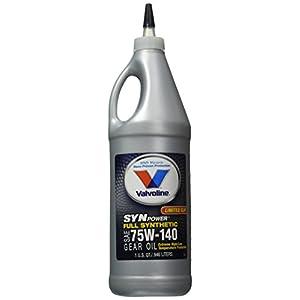 Valvoline 75W-140 Synthetic Gear Oil, 1 quart, 32 fl. oz.