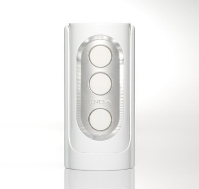Tenga Flip Hole Male Masturbator,White (JAPAN) - Ship from USA by Tenga
