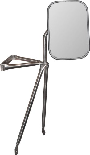 Large Pickup Truck Mirror Tripod Stainless Steel NEW!!! ()