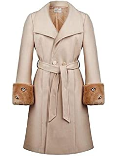 Rinascimento Cappotto Donna  Amazon.it  Abbigliamento c2e43a01eb3