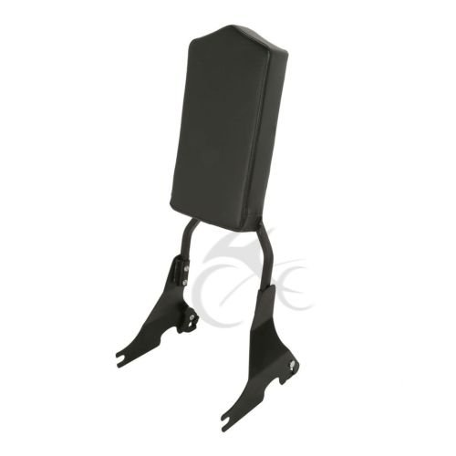 TCMT Passenger Backrest Sissy Bar Pad Fits For Harley Iron 883 SuperLow 48 72 XL1200 2004-2019 ()