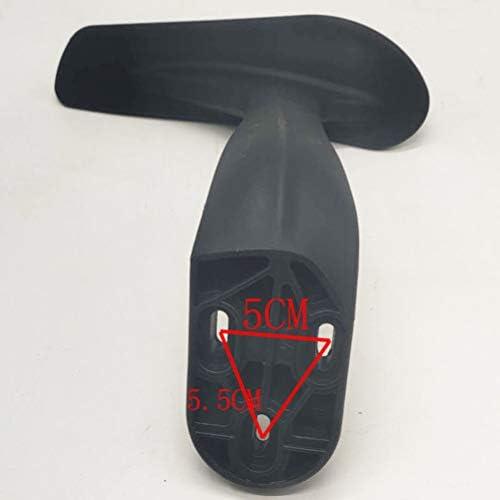 GFPR Chaise d'ordinateur accoudoir Accessoires de Chaise Accoudoirs de Rechange 26,5 * 25 cm Plastique Nylon Right