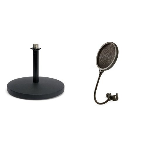 Samson MD5 Desktop Microphone Stand with PS04 Pop ()
