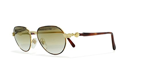 2159ea6d1dd48 Gianni Versace G52 14L Gold Vintage Sunglasses Oval For Men and Women