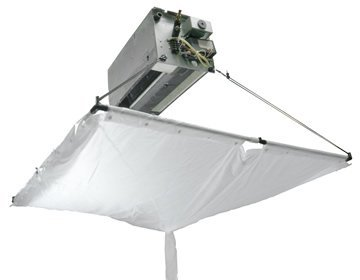 Mounted type cleaning cover for ceiling air conditioner Kingpump