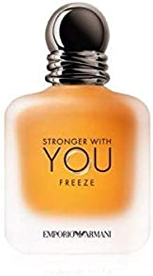 Comprar GIORGIO ARMANI Stronger with You Eau DE Toilette POUR Homme Freeze 50ML VAPORIZADOR Unisex Adulto, Negro, Único