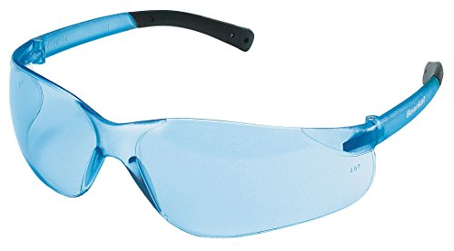 Glasses Crews Safety Bearkat (MCR Crews BK113 Bearkat Safety Glasses Blue Lens, 1 Pair)