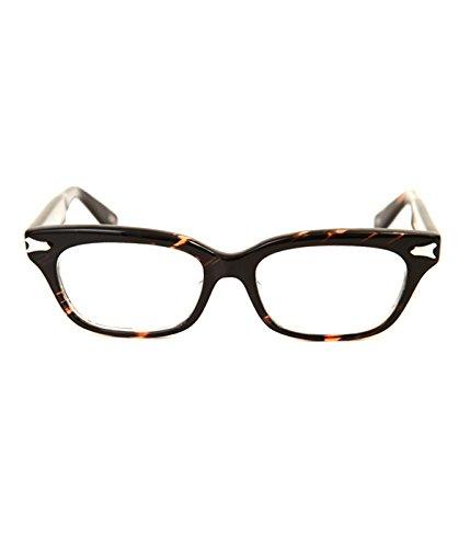 泰八郎謹製 (タイハチロウキンセイ)/ PREMIERE III (タイハチロウキンセイ メガネ 眼鏡) B077XDCB8J  アオササ ワンサイズ