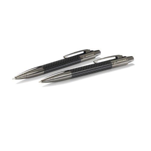 carbon-fiber-pen-and-pencil-set-by-boeing