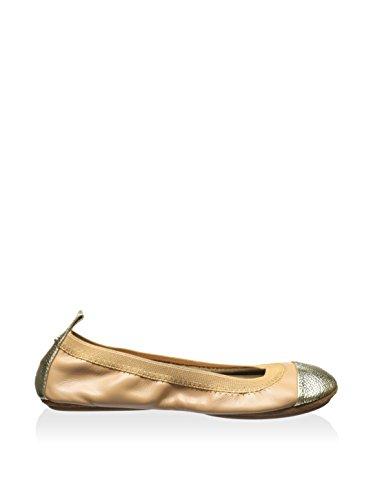 Yosi Samra Kvinders Samara 2.0 Ballet Flad Naturlig Leopard Print Kalv Hår KM01FOH