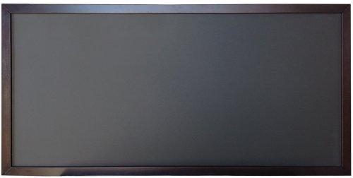 - SINGLE SIDE - 24x48 Restaurant Cafe Wood Frame Menu Board Black Chalkboard