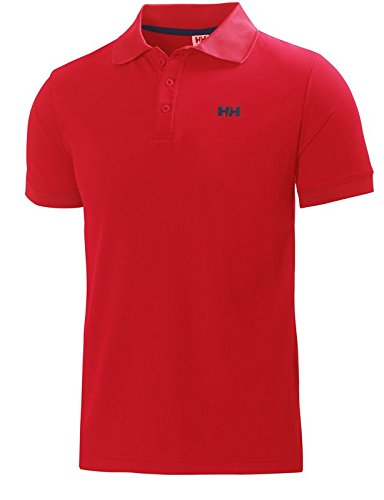 Maglietta Ribes Helly Driftline Rosso Polo Hansen Uomo Caxq8Rw