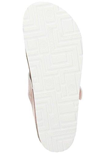 Dr. Brinkmann Pantolette in Übergrößen Silber 701176 92 Große Damenschuhe Metall