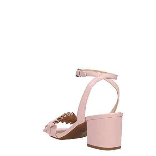 ce6c36fab Envio gratis Michael Kors Sandalias Zapatos con Tacones 40S8BLMA1L Hermosa  Flex Rosa