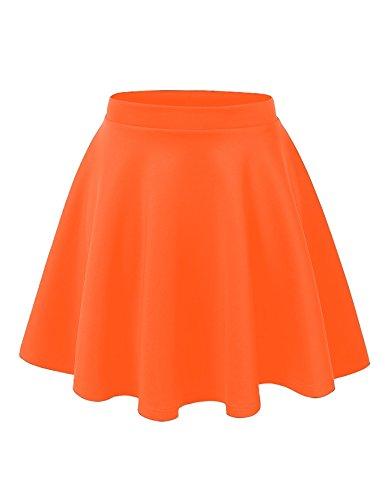 Orange Womens Skirt - 1