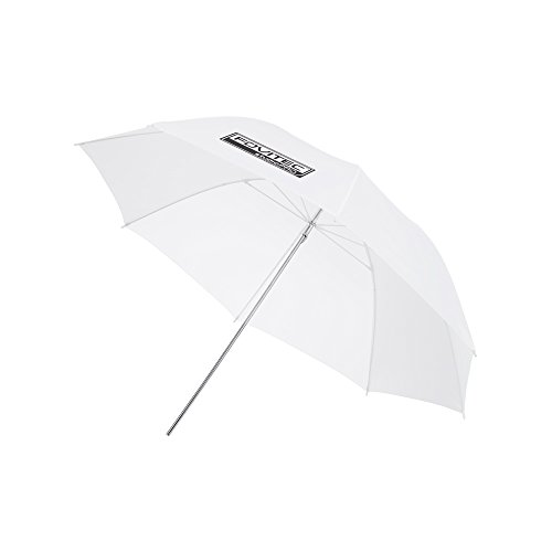 Fovitec - 1x 33 inch Translucent Photography & Video Reflector Umbrella - [Reinforced Fiberglass][Easy Set-up][Collapsible][Durable Nylon]