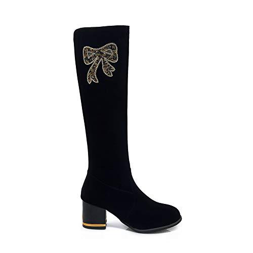 Sandales Abl11682 Femme Noir Compensées Balamasa RSwnxqUq
