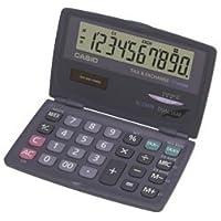 Casio SL 210TE Taschenrechner - aufgeklappt so groß wie ein Tischrechner, mit extra großem Display und extra großer Tastatur