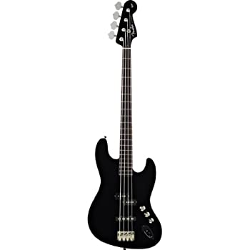 Fender Aerodyne Jazz Electric Bass Guitar Rosewood Stained Fretboard No Pickguard