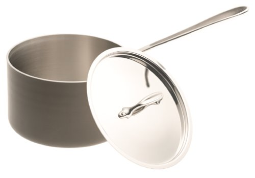 All-Clad LTD 4 Quart  Saucepan with Lid - Made in USA