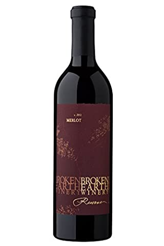 2013 Broken Earth Reserve Merlot 750ml - Reserve Merlot Red Wine