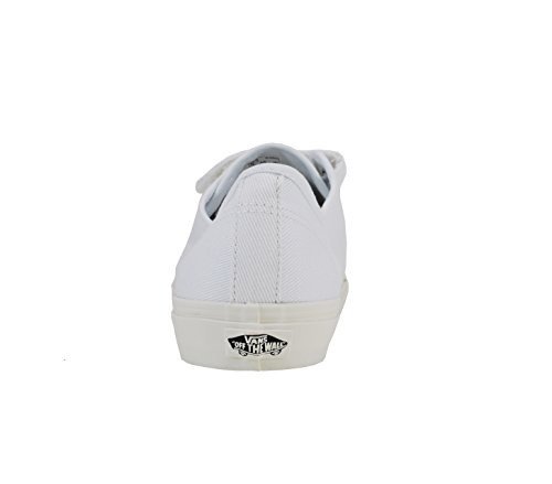 Scarpe Vans Unisex Prison Issue True White / Off White (twill) Fashion Sneaker (13 Mens / 14.5 Donna)