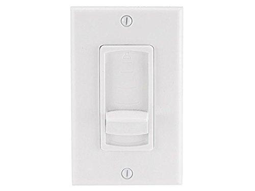 Monoprice 108244 RMS 50W Speaker Volume Controller, White -