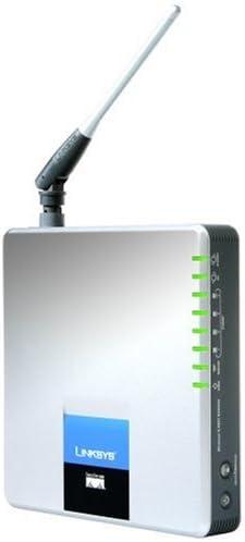 Linksys Wireless-G ADSL Home Gateway WAG354G Router inalámbrico ADSL2 +/conmutador de 4 Puertos