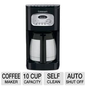 Breville Coffee Maker Descale Reset : Amazon.com: Cuisinart 10 Cup Thermal Programmable Coffeemaker with 1- to 4-Cup Setting, Brew ...
