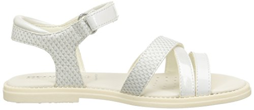 GEOX J Sandal Karly Girl - Sandalias Para Niñas White