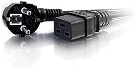 C2G 1.8m C14 IEC - 2xC13 IEC, 1,8 m, Male Connector//Female Connector, C14 acoplador, Acoplador C13 2 x, 250 V, Negro 2xC13 IEC C14 IEC Cable