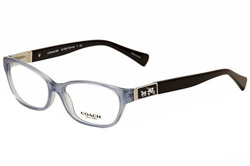 Coach HC6061 Emma Eyeglasses 5259 Milky Blue/Black 52 15 - Glasses Coach Reading