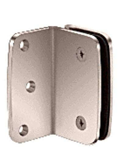 C.R. LAURENCE R090SPN CRL Polished Nickel Roman Series Wall Mount Bracket ()