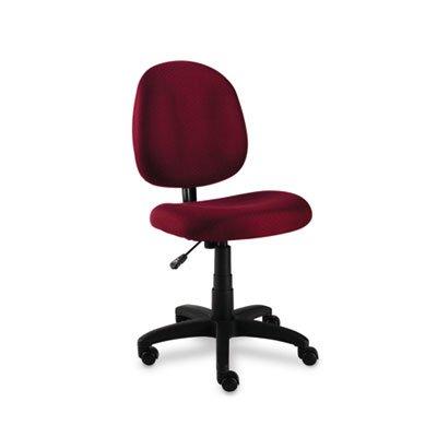 (Alera ALEVT48FA30B Essentia Series Swivel Task Chair, Acrylic, Burgundy)