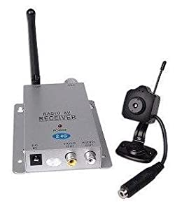 Amazon.com : Micro 2.4GHz Wireless Security Camera / Closed ...