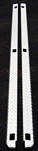 Dee Zee DZ11977 Brite-Tread Wrap Side Bed Caps; w/Stake Holes; Sold in ()