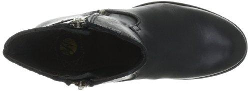 Hudson Londra Riley Damen Biker Boots Schwarz (nero)