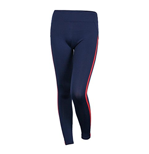 de de jogging pantalon serré fitness blue pantalon stretch Femme yoga pantalon couture AwWqaTZTR